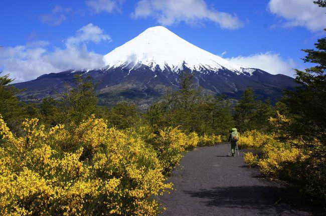 volcan en patagonie