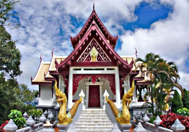 octobre nord Thailande
