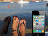 Iphone vacances