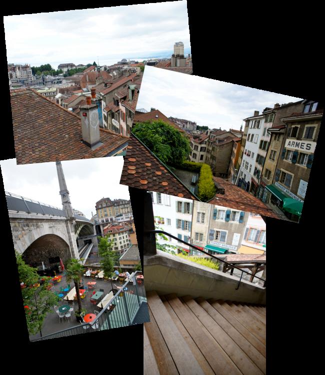 Lausanne vieille ville