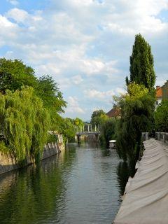 rivière Ljubljana