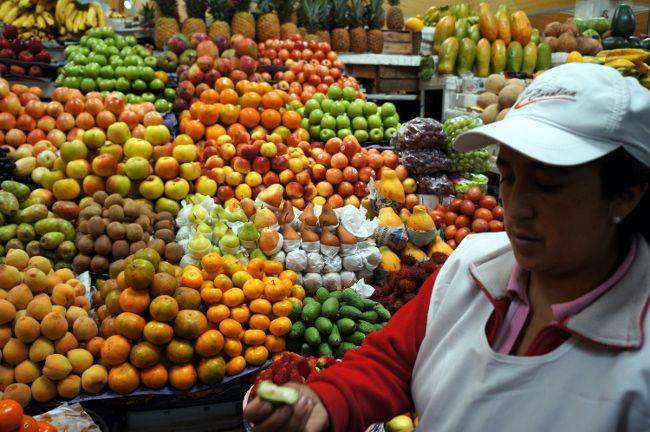 market in Quito