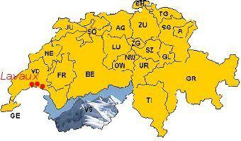 carte du Valais