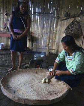 préparation de chicha