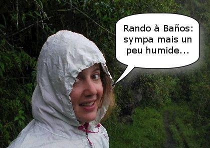 rando sous la pluie
