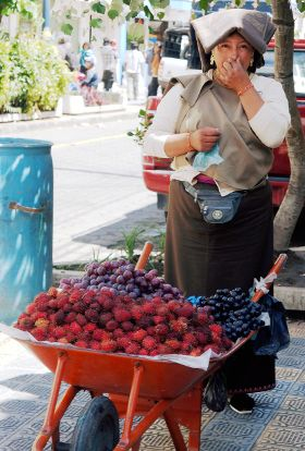 vendeuse de fruit equateur