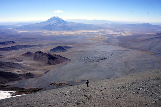 descente parinacota