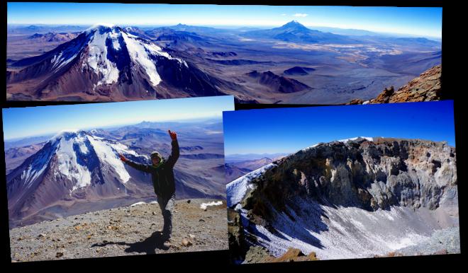 sommet Parinacota