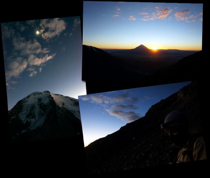 sunrise Parinacota