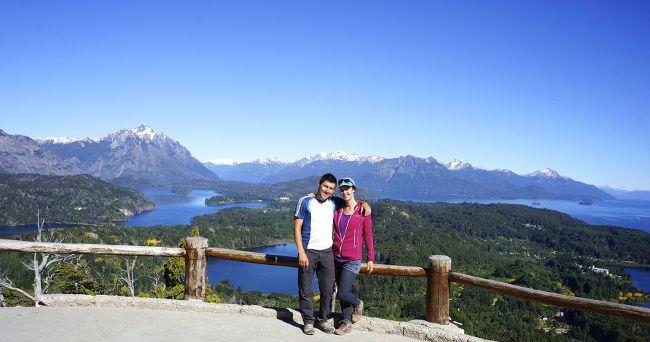 au sommet du cerro campanario