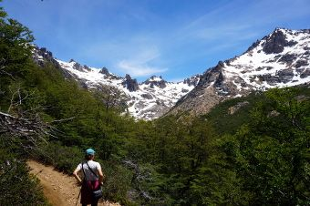 hiking in argentina