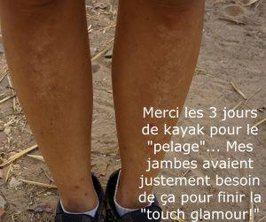 jambes de baroudeuse