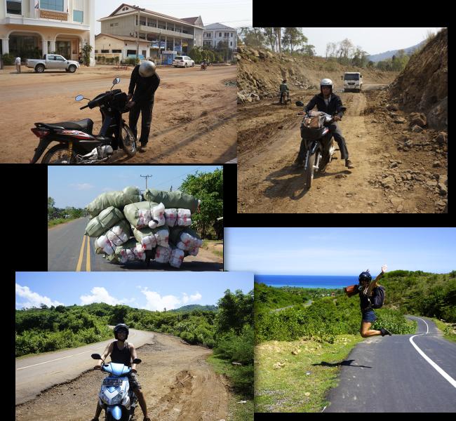 sur les routes d'Asie