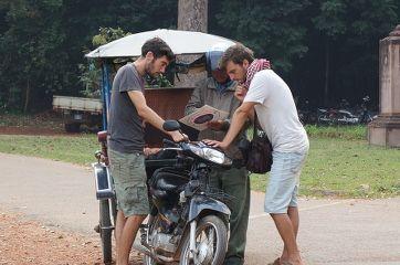 tuktuk aux temples d'Angkor