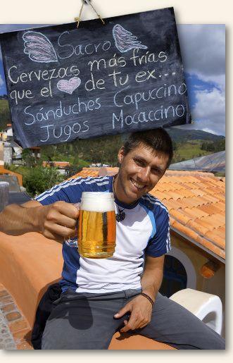 biere en equateur