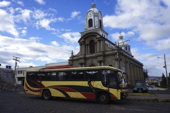 les bus en equateur