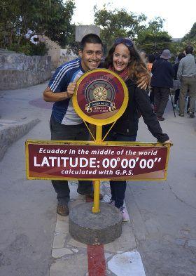 milieu du monde, equateur
