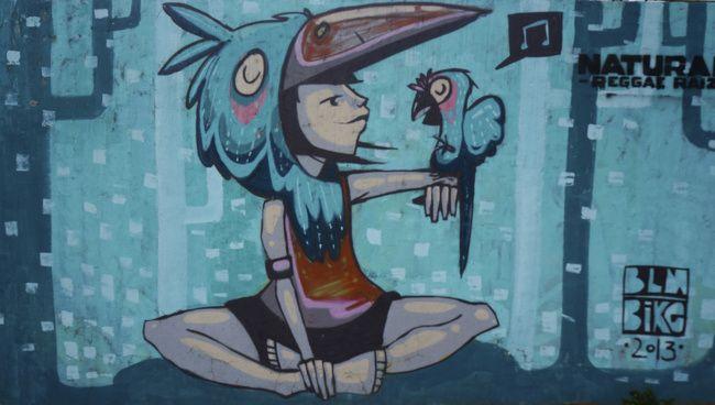 street art a Quito