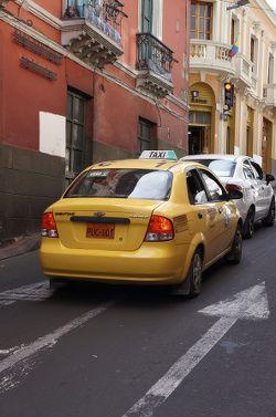 taxi à Quito