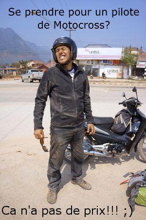 routes difficiles au Laos