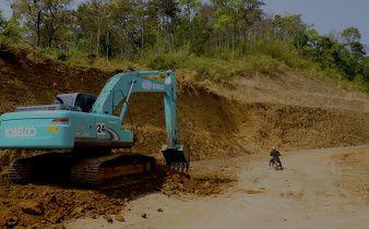 les routes laotiennes
