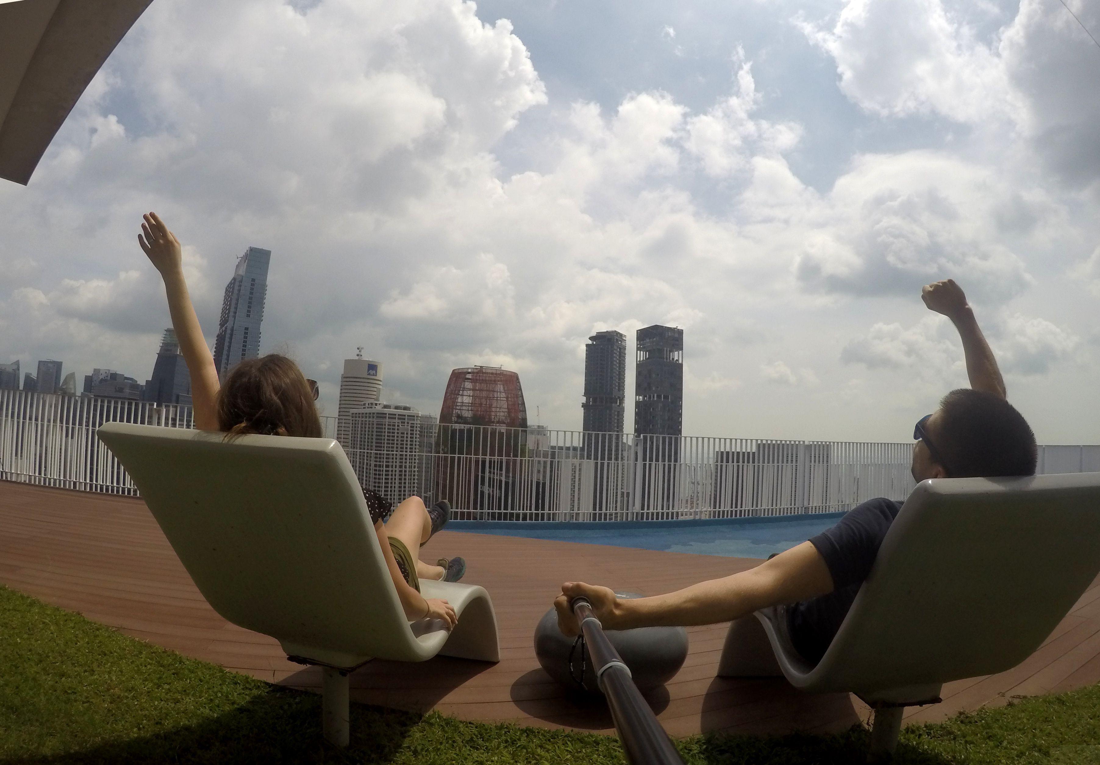 panorama sur singapour