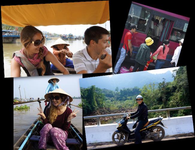 moyens de transport au vietnam