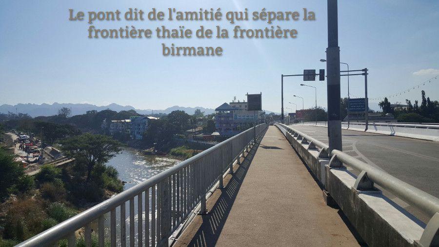 pont amitié thailande birmanie