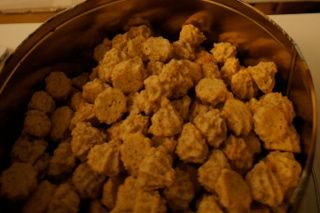 macarons aux noix