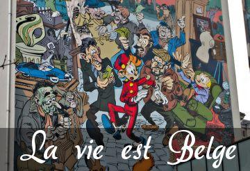 la vie est belge, visite de bruxelles