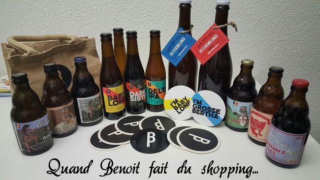 bieres achetées en souvenir