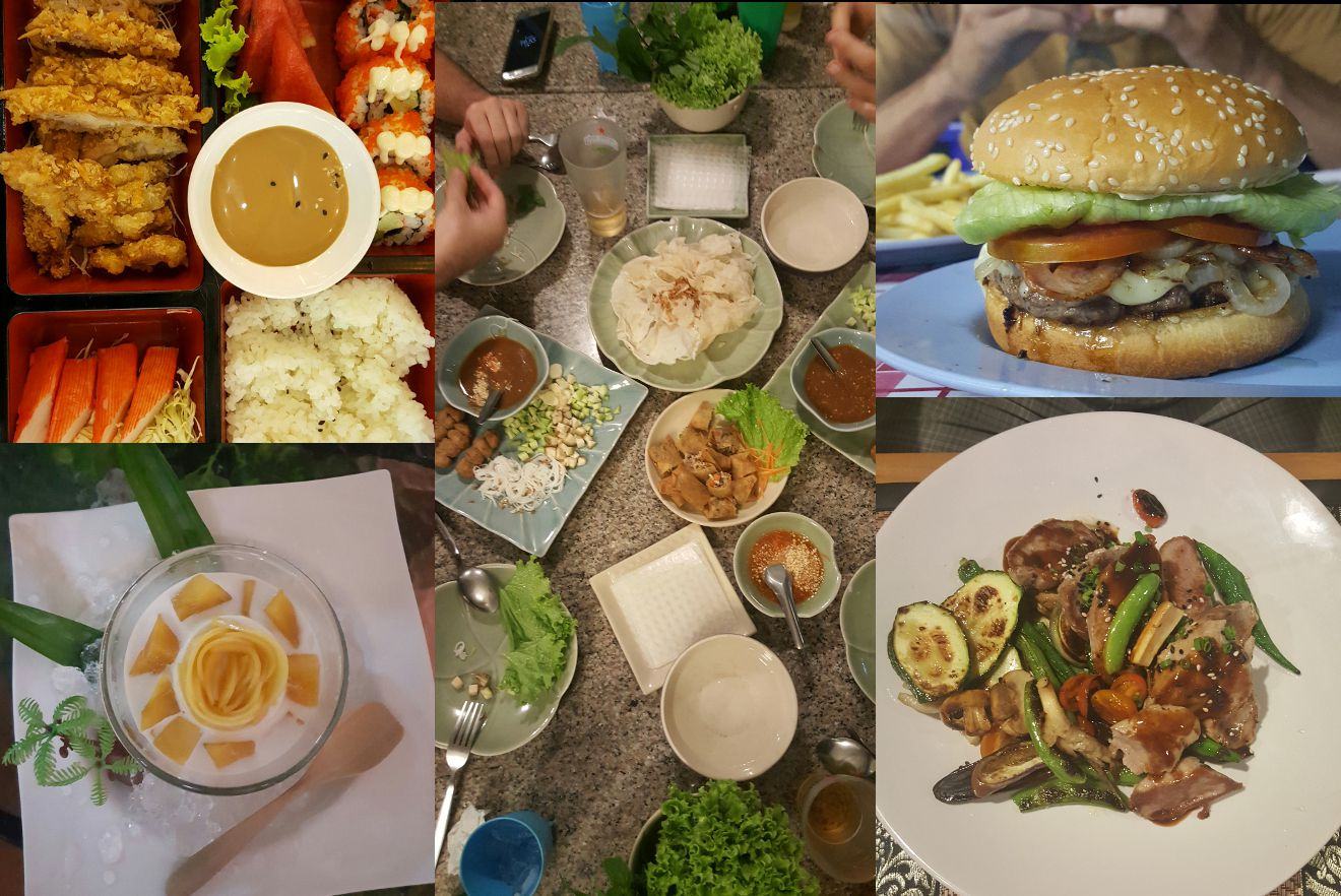 nourriture en thailande