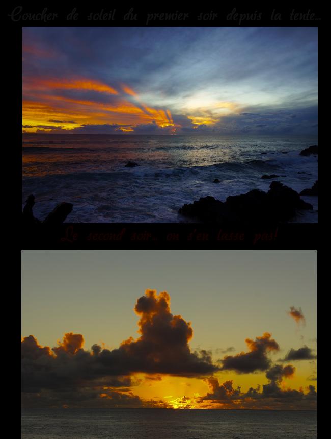 couchers de soleils rapa nui