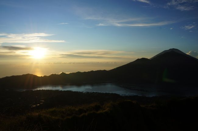 lever du soleil en indonesie