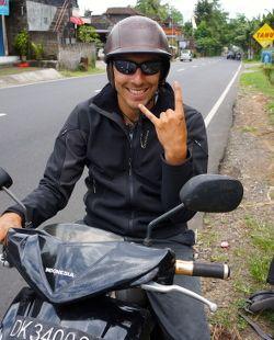 location de scooter à Bali