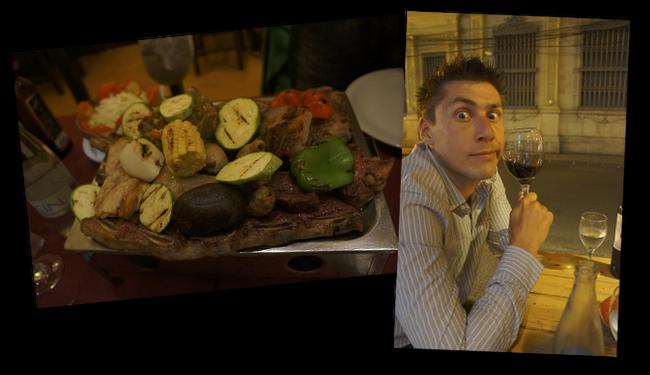 viande et vin argentin
