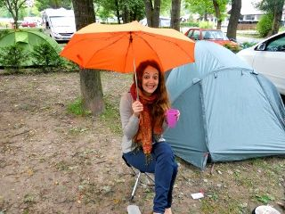 article camping