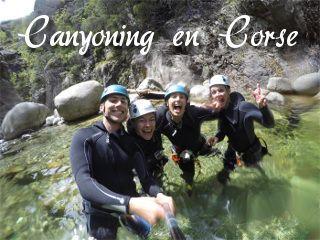 canyoning corse