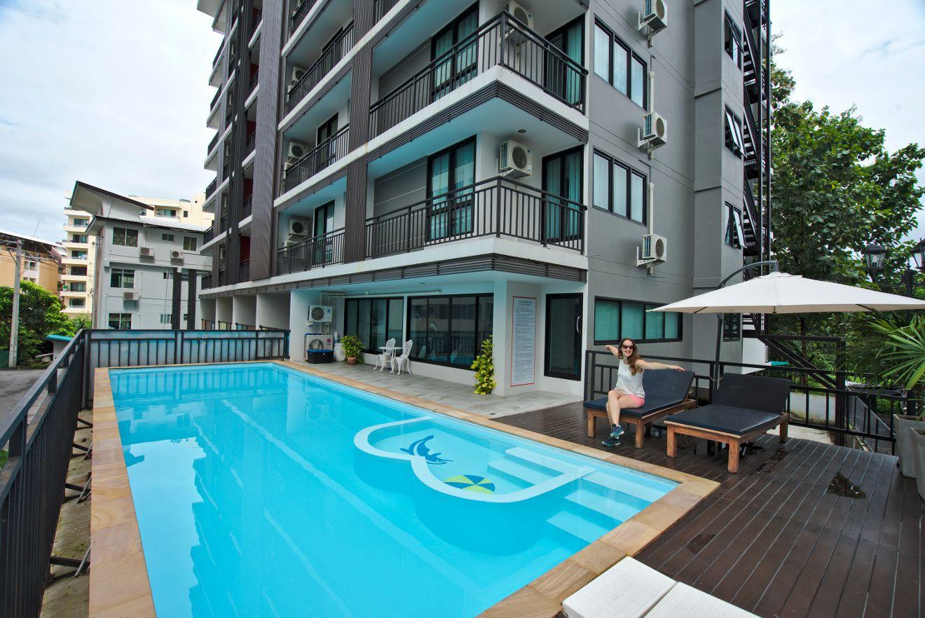 appartement avec piscine en thailande
