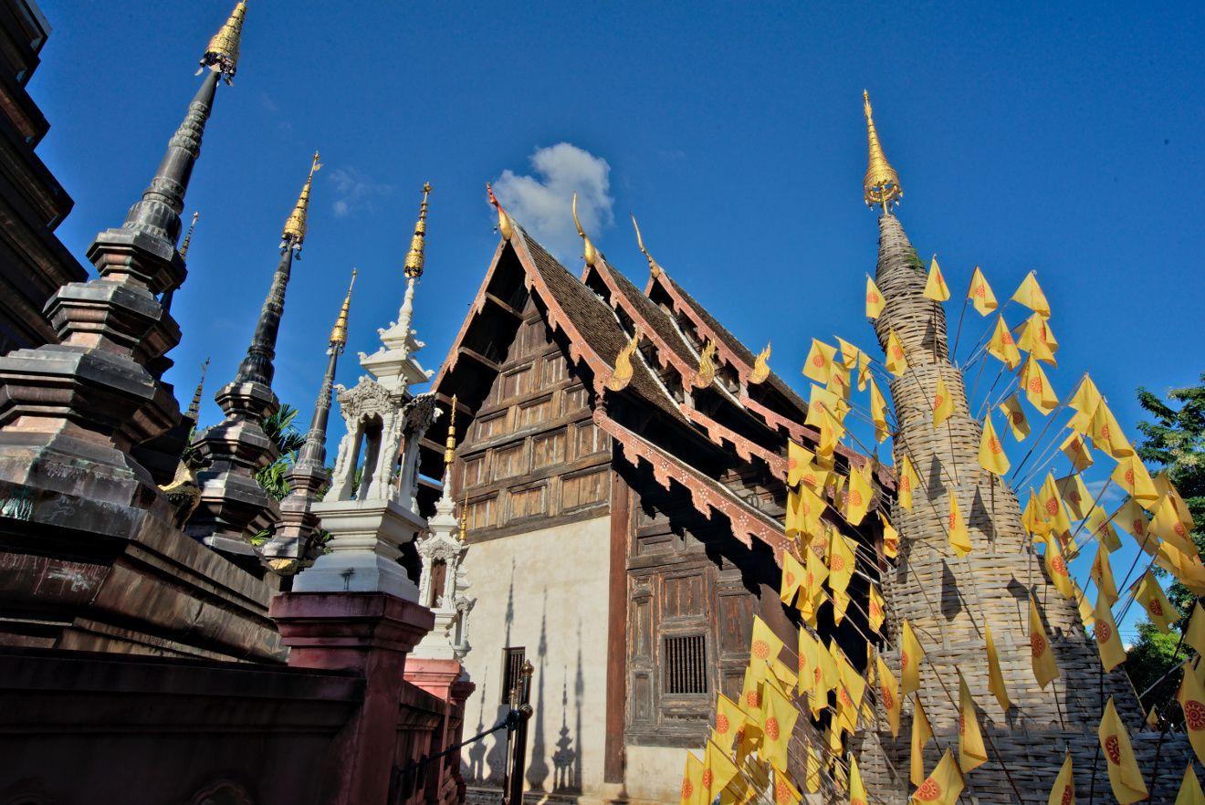 temple thailandais à chiang mai