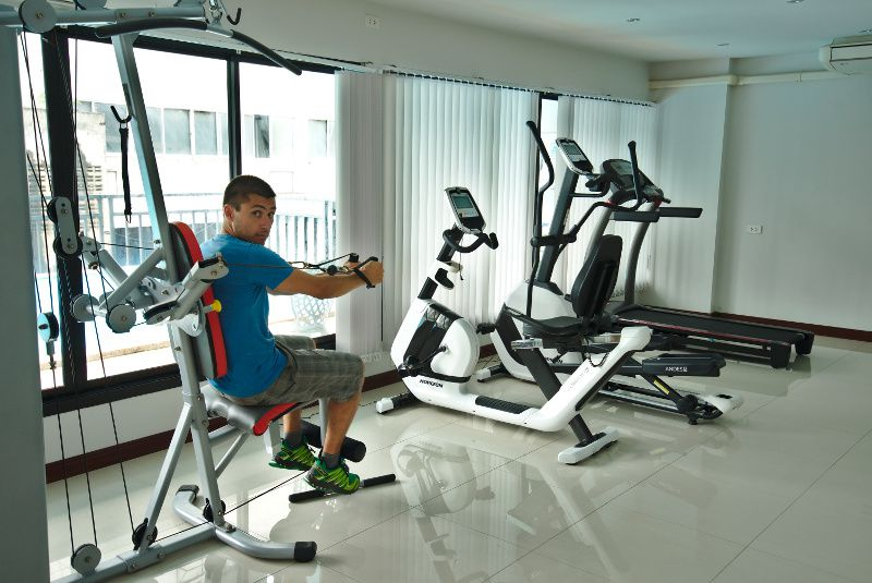 fitness thailande