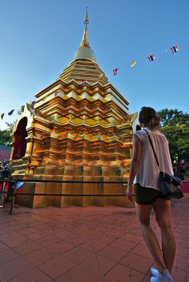 temple doré, stupa