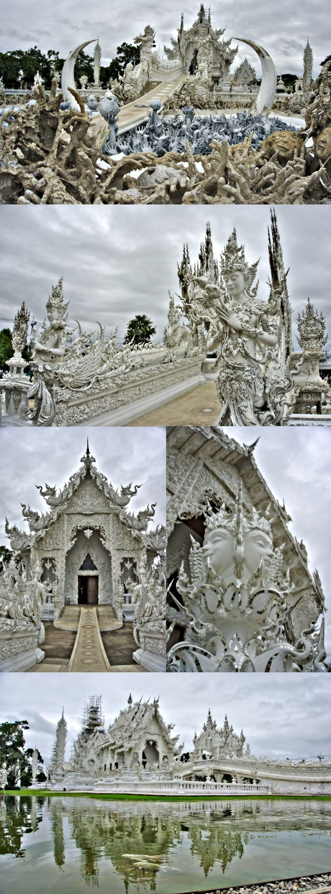 temple blanc thailande