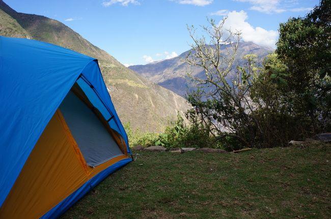camping in peru