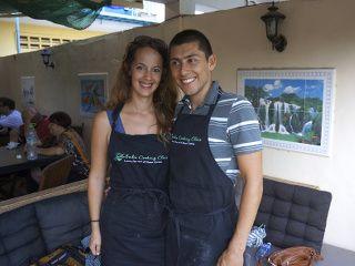 cours de cuisine au Cambodge