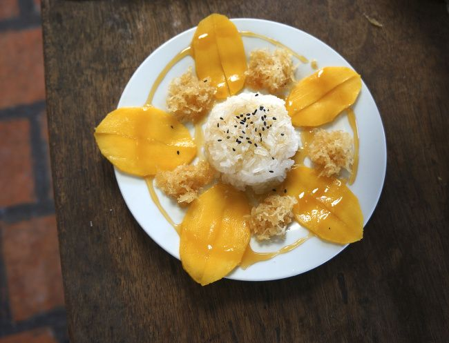 le fameux Mango sticky rice