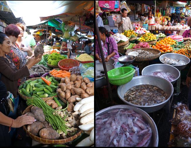 le marche a phnom penh