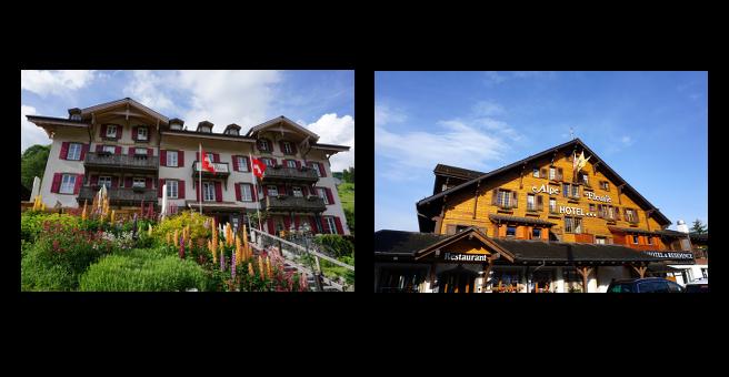 hotel à la montagne
