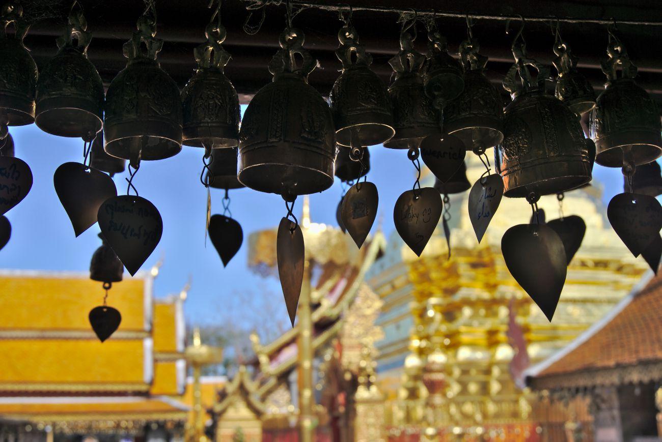 cloche temple thai