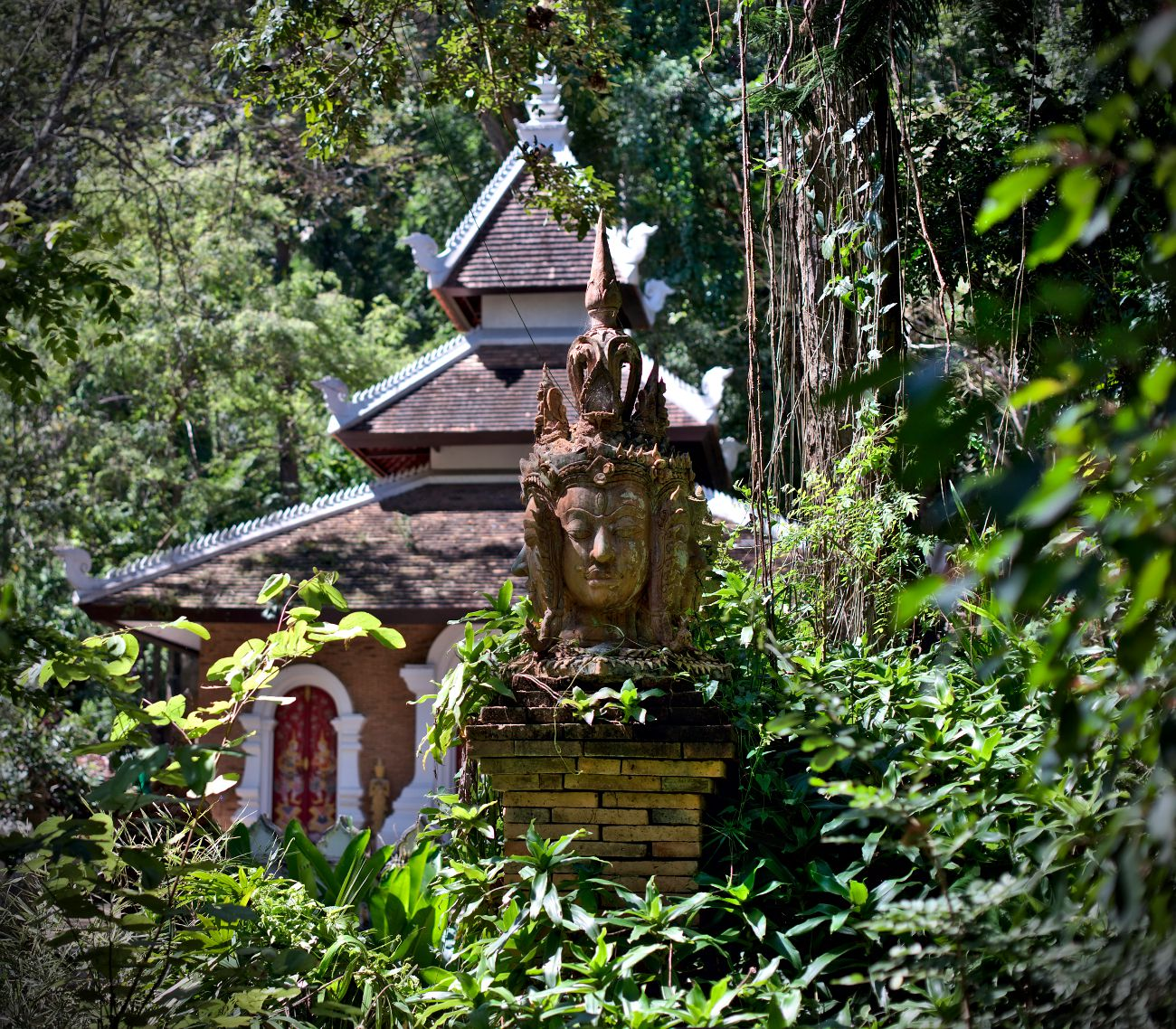 temple wat pha lad